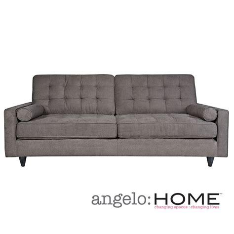 Angelo Home Laura Sofa In Parisian Smoky Gray
