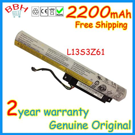 Baterai Lenovo Flex 10 11 L13s3z61 3 Cell Ori Garansi 6bln genuine original 11 1v 24wh 2200mah l13s3z61 battery for