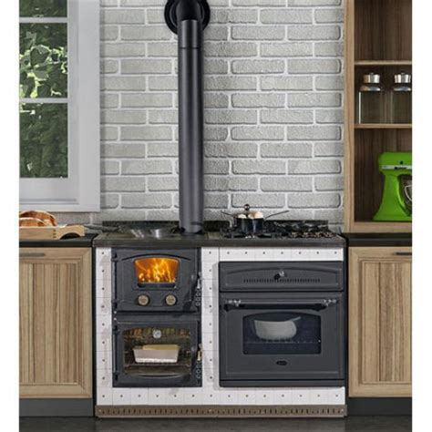 stufa a gas per cucinare cucina a legna e gas da incasso elektra anselmo cola