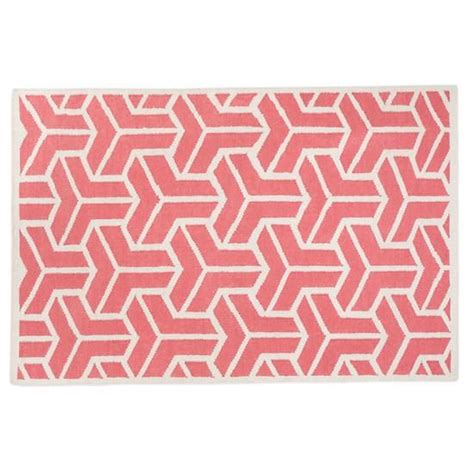 wool childrens rugs the land of nod rugs pink crows wool rug in all rugs if lil piggie is a