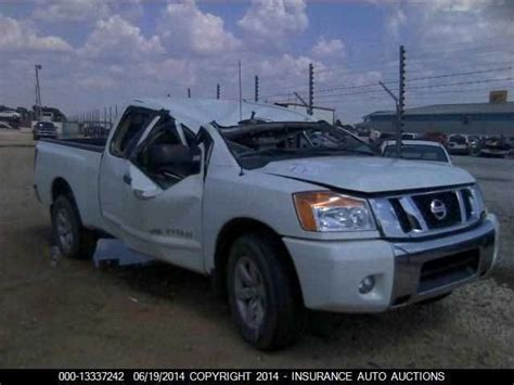 utility bed parts used 2010 nissan titan rear body decklid tailgate w o