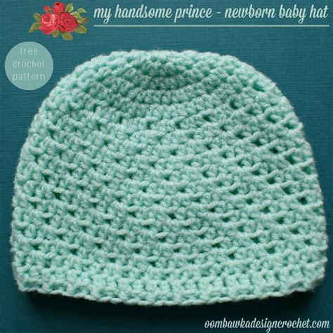 pattern crochet baby hat my handsome prince newborn baby hat oombawka design crochet