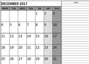 december 2017 printable calendar templates printable