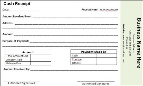 template of paid receipt payment receipt template free printable word templates