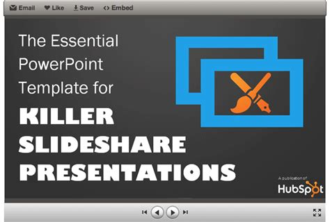 powerpoint themes slideshare free template the essential powerpoint template for