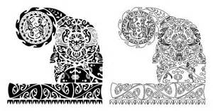 the rock template pdf maori polynesian vector stencil template ebay