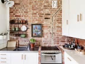 Brick Kitchen Designs by 28 Exposed Brick Wall Kitchen Design Ideas Home Tweaks