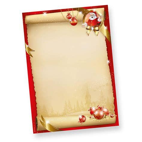 Kostenlose Vorlage Ebay Weihnachtsbriefpapier Santa 50 Blatt Briefpapier Weihnachten Rot Ebay