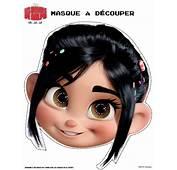 Activit&233s Manuelles Masque De Vanellope &224 D&233couper  Fr