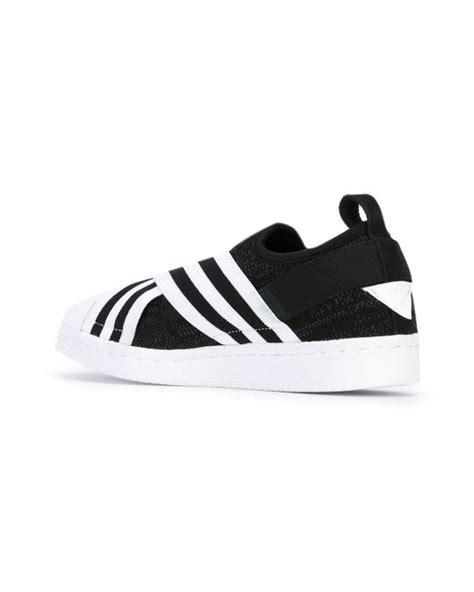 Adidas Slip On X Mountaineering Black Striped White Premium Original adidas originals mountaineering superstar slip on
