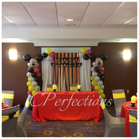mickey mouse baby shower decorations mickey mouse baby shower ideas photo 7 of 7