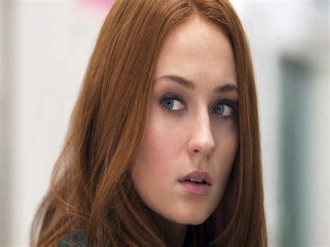 redhead actress game of thrones season 6 sophie turner s sansa stark may turn to dark side on got