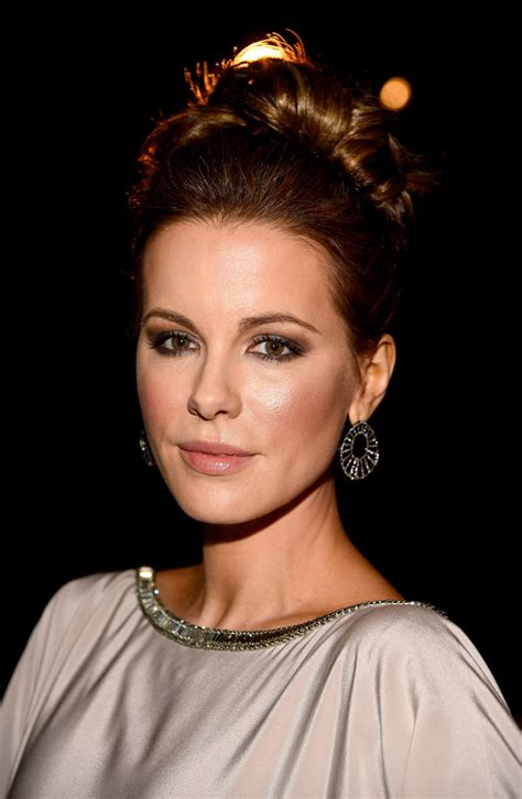 Kate Twisted by Kate Beckinsale Twisted Bun Hair Lookbook Stylebistro