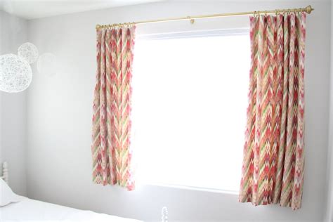 curtains with hook pins natty by design short curtains and a pin hook tutorial