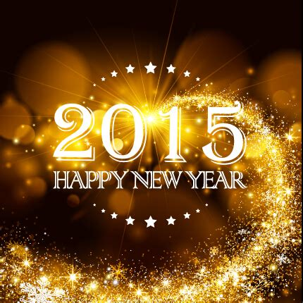 new year golden week 2015 2015 new year golden rays background vector vector