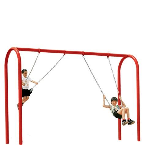 swing png 3 bay swing tire swing kids castle