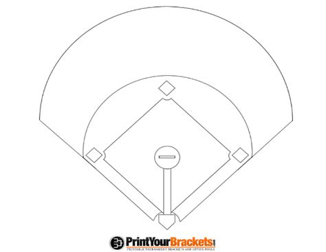 baseball position template printable baseball diagram baseball
