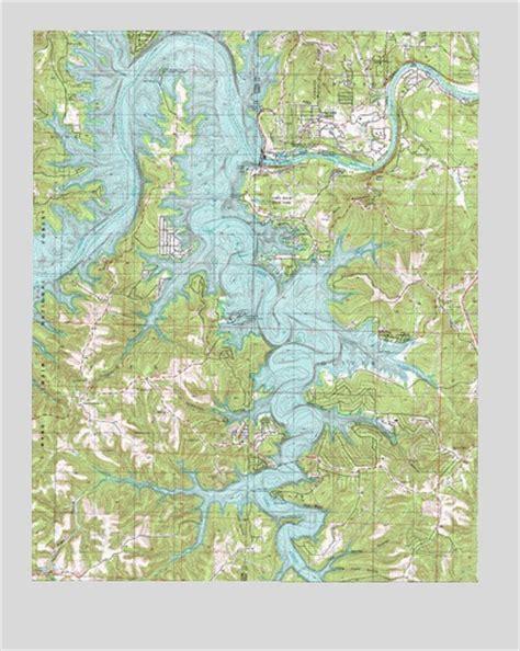 table rock dam mo topographic map topoquest