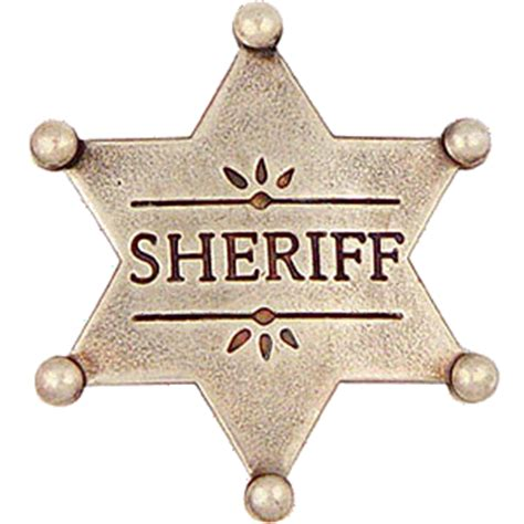 ball tipped sheriff star badge sheriff police polic 237 a