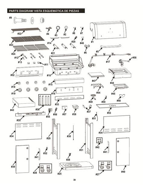 gas grill parts diagram char broil infrared ignitor wiring diagram char broil 5