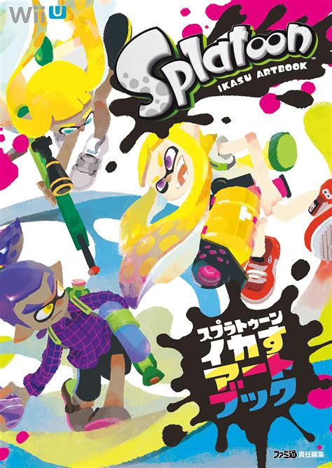 amazon opens preorders for the art of splatoon and reveals north american release date game splatoon official artbook to be released in october in japan perfectly nintendo