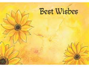 Product code no78 best wishes card
