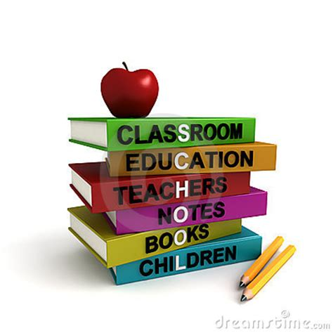 school book pictures pile of colored school books royalty free stock photos