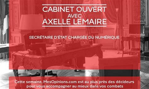 Cabinet Axelle Lemaire by Cabinet Ouvert Avec Axelle Lemaire