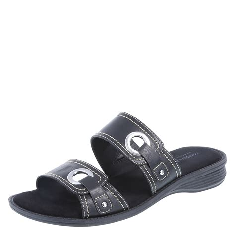 comfort plus by predictions womens sandals comfort plus by predictions percy women s slide sandal