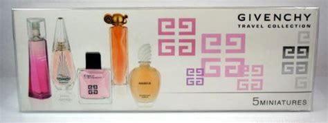 givenchy travel collection perfume miniature gift set for my world gift sets for