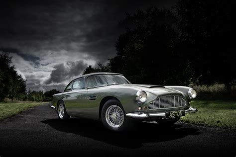 100 Classic Aston Martin Cars Pearlescent White