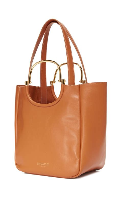 Derek Lam Large Tote by Lyst 10 Crosby Derek Lam Mini Hudson Tote In Brown