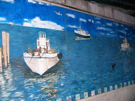 casino boat sheepshead bay sheepshead bay mural forgotten new york