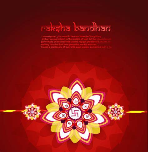 raksha bandhan card template beautiful card raksha bandhan festival background free