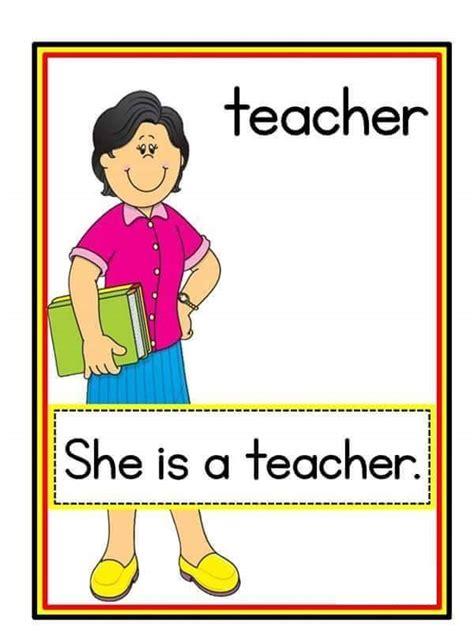 printable flash cards jobs jobs flashcards 1 171 preschool and homeschool
