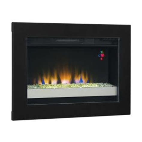 30 75 in contemporary electric fireplace insert 75867 bb