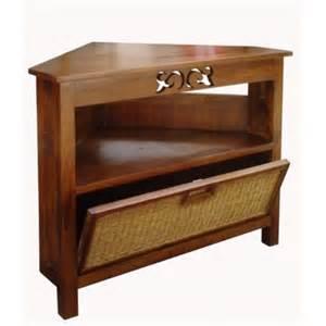 joli meuble d angle en teck pour salle de bain aliz 233 e