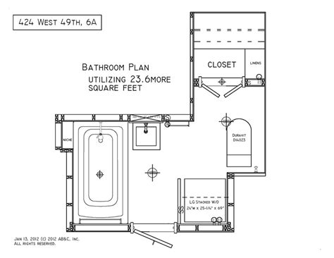 bathroom construction plans construction design and autocad renderings for clients