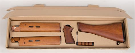 wooden kit ares airsoft l1a1 wooden furniture kit