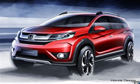 honda br honda brv 2015 video and images new crossover suv br v