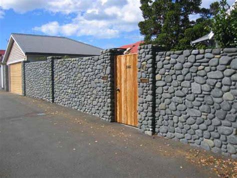 design wood  natural stone fences  design news