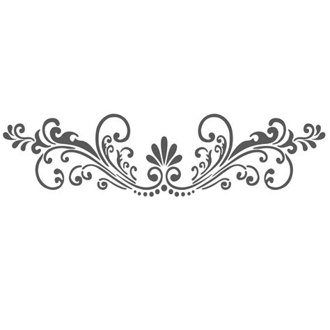 dekor schablone wall stencils border stencil pattern reusable template for