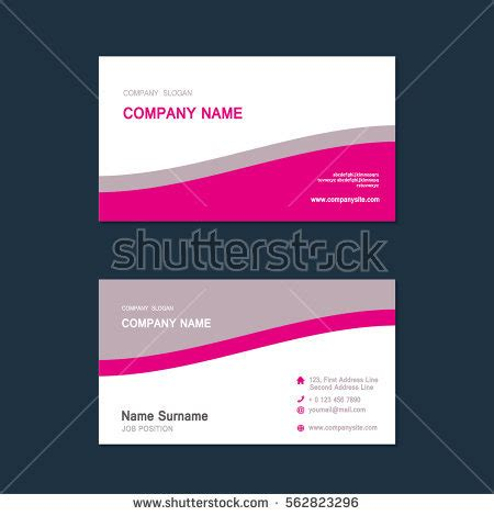financial report card template stock images royalty free images vectors