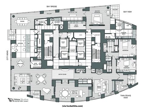 pent house floor plan socketsite socketsite s unofficial penthouse plan challenge box at the top