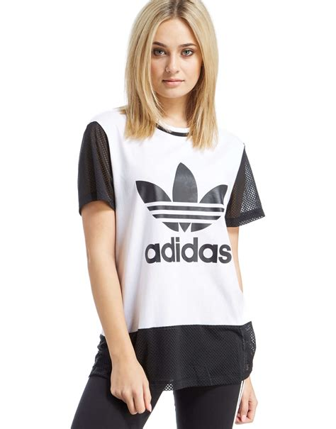 Original Adidas Tshirt Mesh Essentials Ce8522 adidas originals trefoil t shirt jd sports