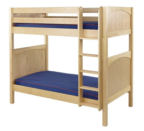 Maxtrix High Bunk Bed W Straight Ladder T T Bunk Bed