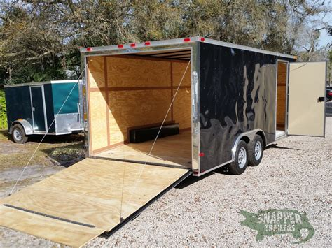 landscape trailers and accessories snapper enclosed trailers