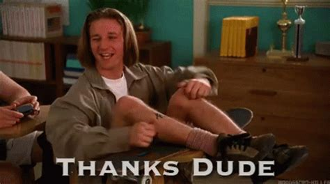 thanks dude gif thanksdude discover & share gifs