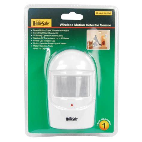 homesafe wireless home security motion sensor community