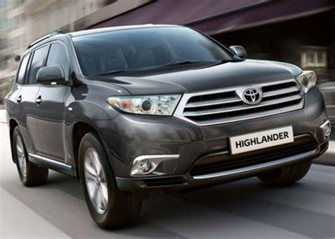 Toyota 2015 Price 2015 Toyota Kluger Price And Release Date